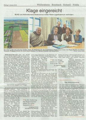 Wetterauer Zeitung, 5.1.2018