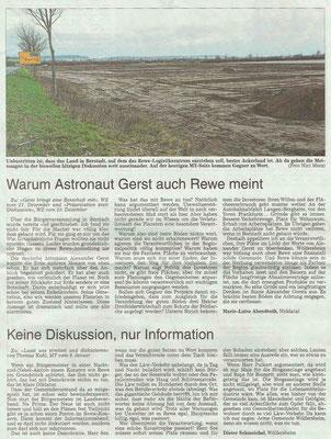 Wetterauer Zeitung vom 11. Januar 2019