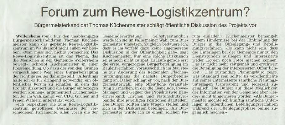 Wetterauer Zeitung, 24.2.2018