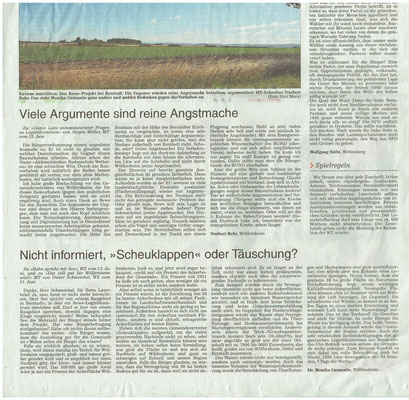Wetterauer Zeitung, 27. Juni 2018