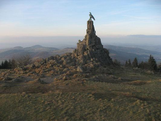 9.)  Adlerblick über die Rhön