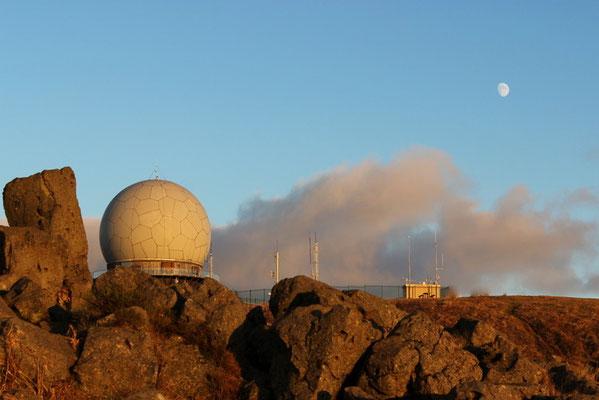 26.)  Abendsonne am Radom  -  Als ob man auf dem Mars steht?