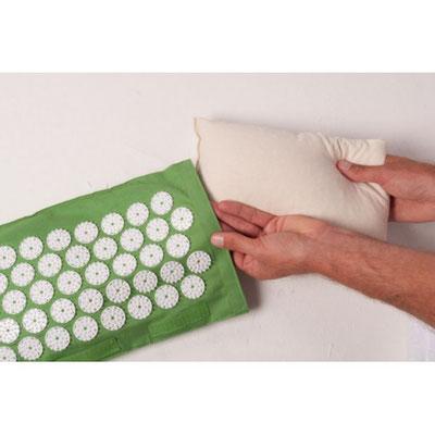 cuscino riscaldabile chiodato agopressione termoterapia mysa