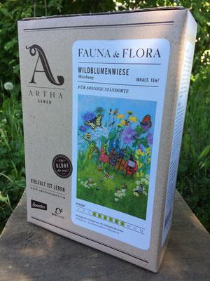 Wildblumenwiese für sonnige Standorte
