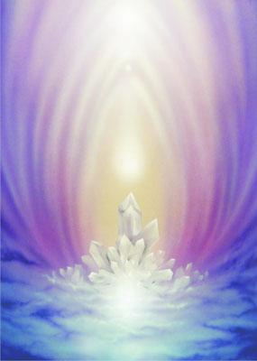Kristall der inneren Ausgeglichenheit