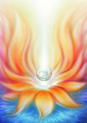 Der falmmende Lotus