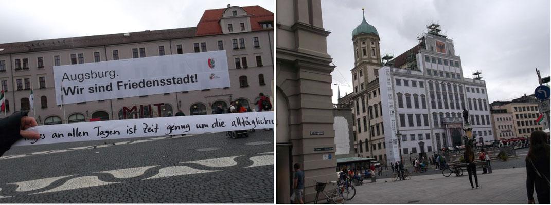 Rathausplatz – Augsburg (Deutschland)