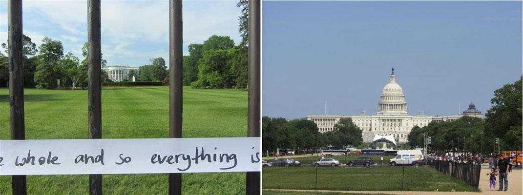 Weiße Haus und Kapitol – Washington DC (USA)