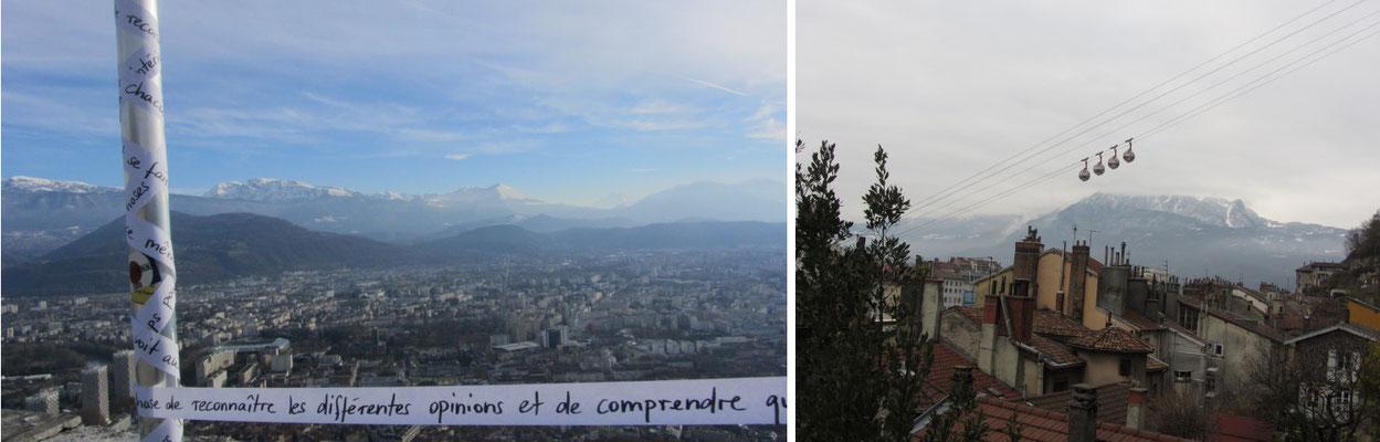 Bastille von Grenoble (Frankreich)