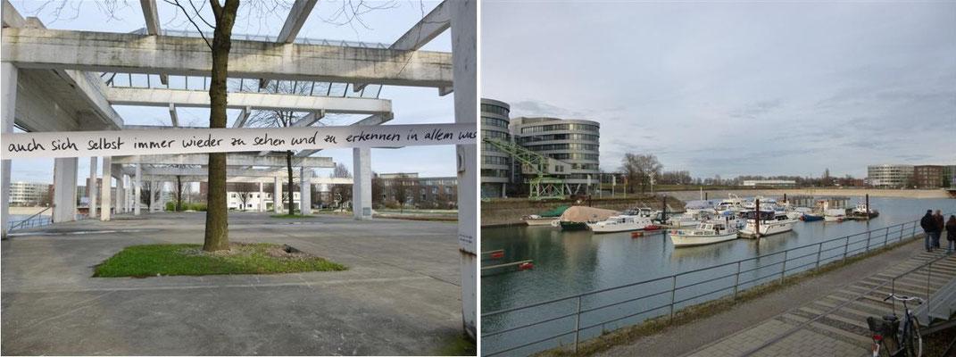 Garten der Erinnerung - Innenhafen – Duisburg (Deutschland)
