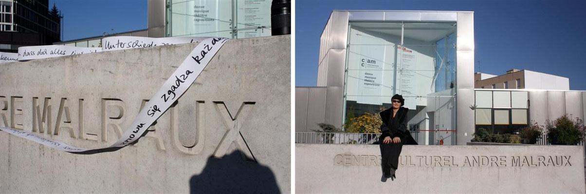 Centre Culturel André Malraux - Rue de Parme – Vandoeuvre-les-Nancy (Frankreich)