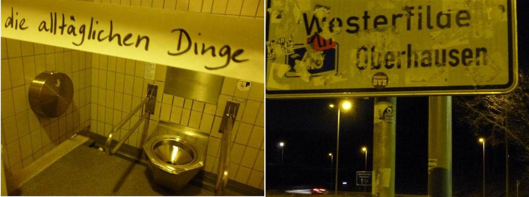 Rastplatz Westerfilde - A45 bei Dortmund (Deutschland)