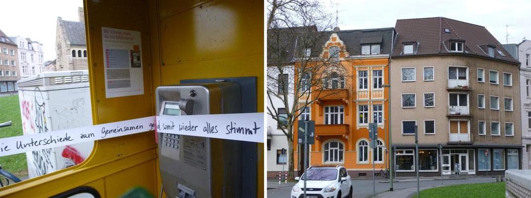 Telefonzelle am Ludgeriplatz – Duisburg Neudorf (Deutschland)