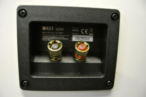 仙台のだや「KEF Qシリーズ コンパクトスピーカーQ350」展示中