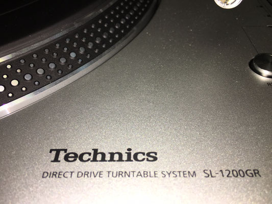仙台のだや「Technics SL-1200GR」展示中