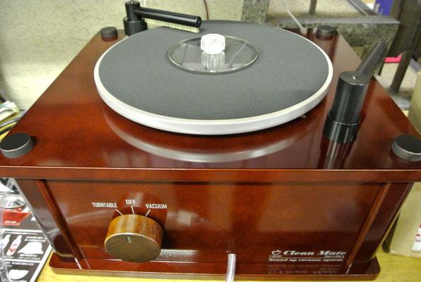 仙台のだや「レコードクリーニングマシーンClean Mate IQ1100A」展示中