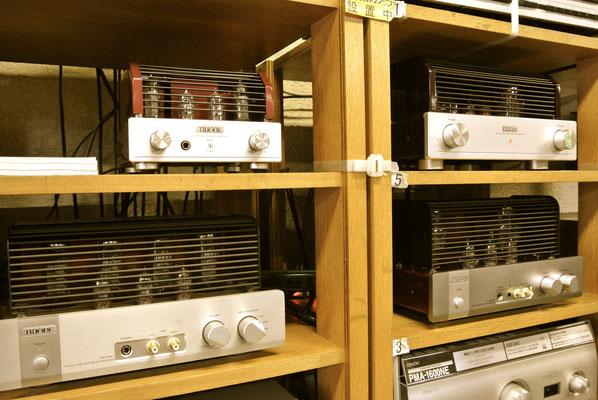 仙台のだや「Triodeの真空管アンプ TRV-A300XR」展示中