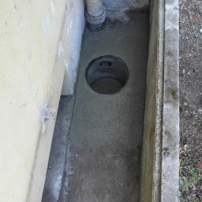 Umgebungsarbeiten, Kanalisation