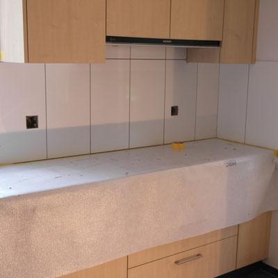 Plattenarbeiten Küche