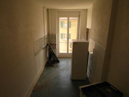 Küche vor Renovation