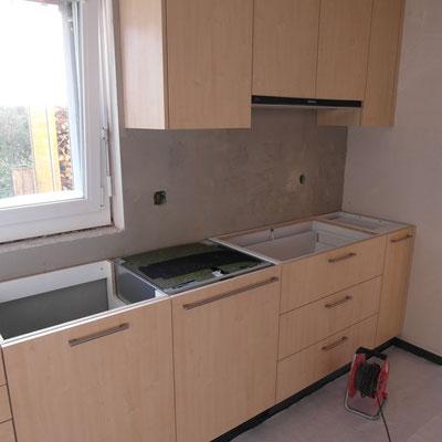 Baumeisterarbeiten Küche
