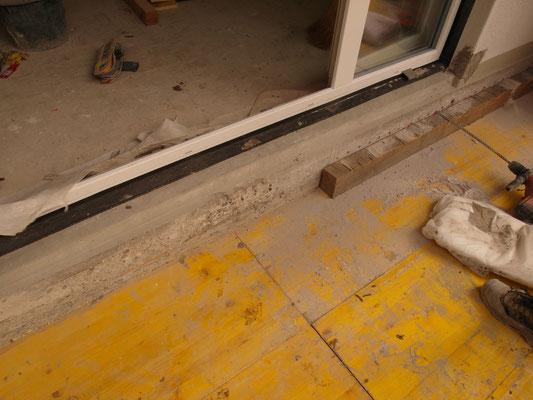 Schöck  Isokörbe bohren für neuen Balkon