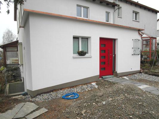 Fertigstellung Hauseingang