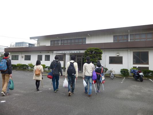 日本電池体育館。