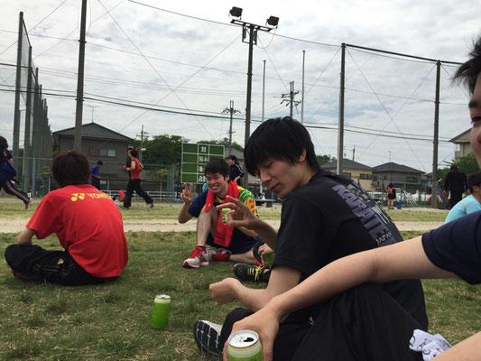 篠田赤タオルもらいました!