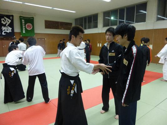 四武道の写真です!合気道