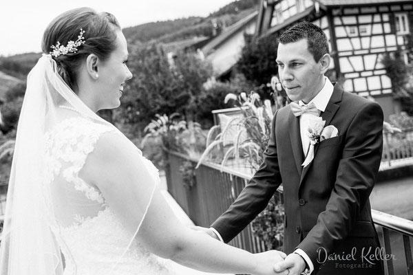 Hochzeitsfotograf Daniel Keller First Look