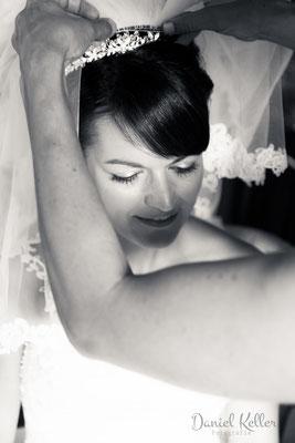 Getting Ready Braut / Daniel Keller Fotografie