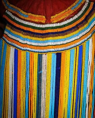 Robe de femme Datoga (détail)