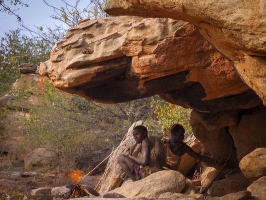 Les Hadzabé, chasseurs-cueilleurs
