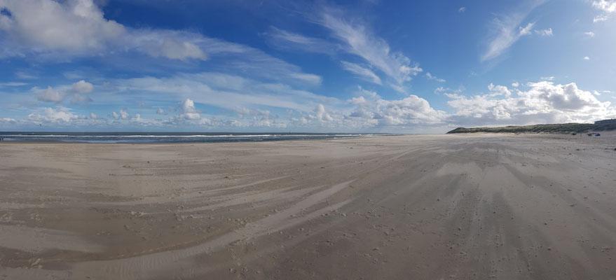 Strand van Vlieland voro de cursus runningtherapie