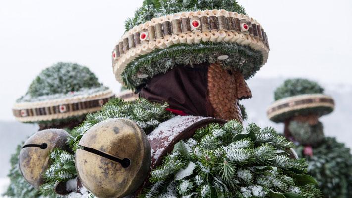 Bild: Silvesterchlausen in Urnäsch (Vera Rüttimann)