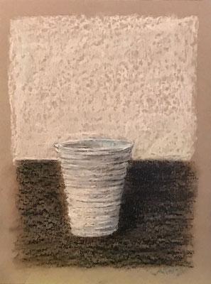 Pastelli a olio su cartone (23 cm x 30,5 cm)