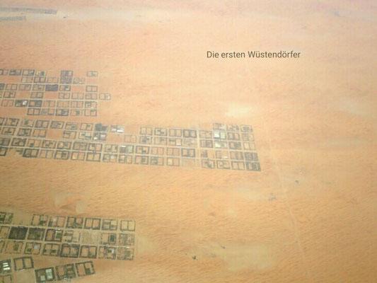 Die ersten Wüstendörfer