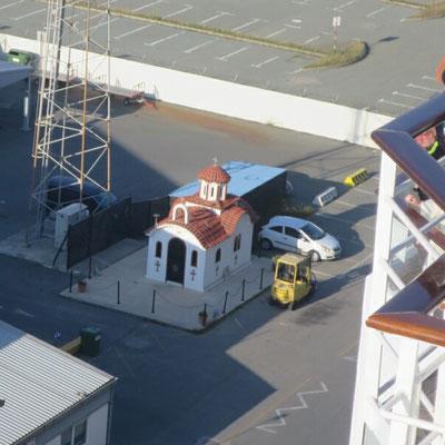 Die kleine Kappel am Hafen.