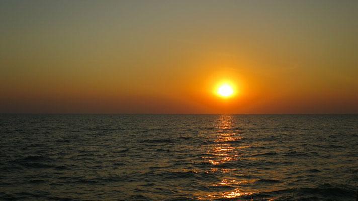 Sonnenaufgang um 07:15 Uhr