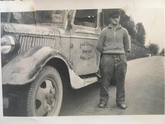 Josef Schramm im Jahre 1940