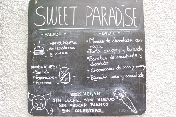 Sweet Paradise Vegan, Santa Cruz