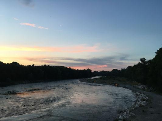 Perspektivenwechsel, Lech, Augsburg