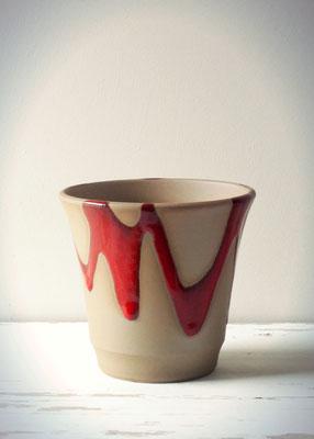 紅彩ビアカップ