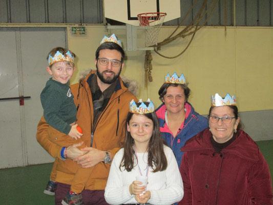 Nos reines et roi de la galette