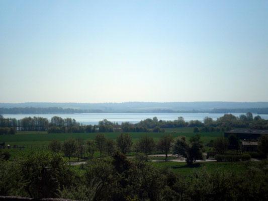 Vue sur le lac de Madine
