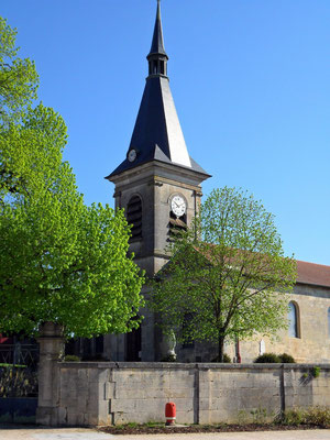 L'église d'Heudicourt-sous-les Côtes