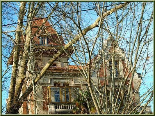 """La villa """"Giroflé"""" en """"Ville d'Hiver"""" à Arcachon"""