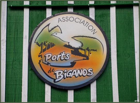 Cabane 18-19, Association des Ports de Biganos, détail (Bassin d'Arcachon)