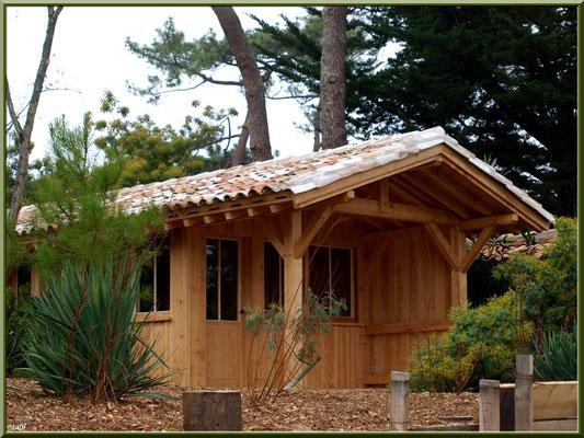 """Belle maison en bois style """"Bartherotte"""" en bordure de la conche (Cap Ferret)"""